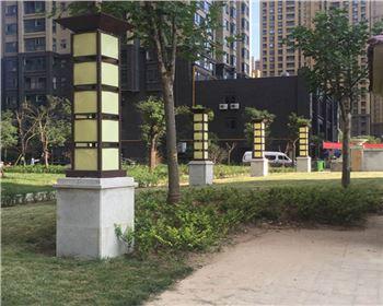 宁夏景观灯案例-西安茅坡新城景观灯