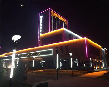 办公楼建筑照明亮化