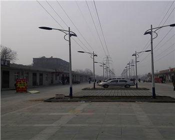 街道市电亚博全站官方下载-甘肃省西安市户县饮食街亮化工程