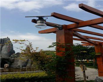 月光灯-湖北西安太阳能庭院灯项目