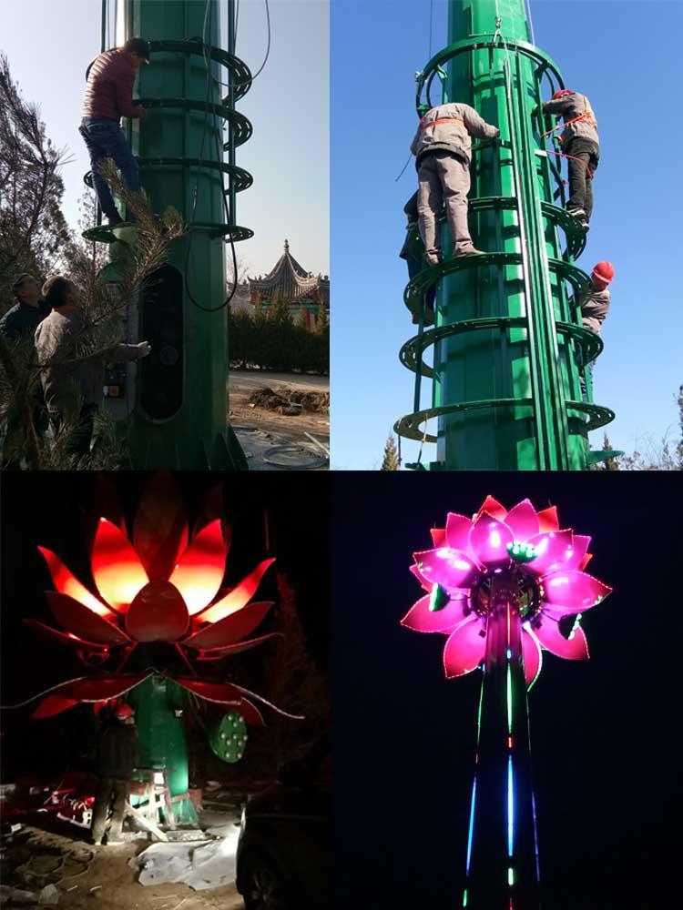 陕西景观灯施工